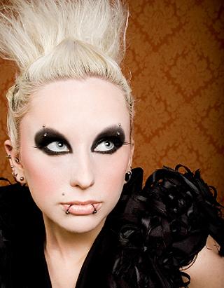 Визаж косметика нанесение макияжа
