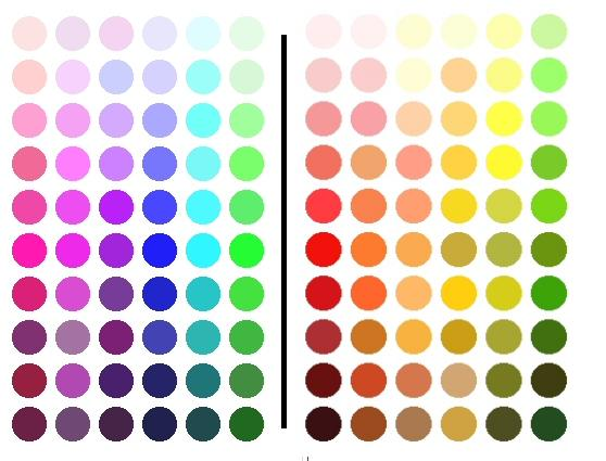 The Following Colors Suit You Pink Rose Fuschia Blue Silver White Black Greens Purples See Color Swatches On Left In Pic