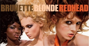 Blonde brunette redhead collection
