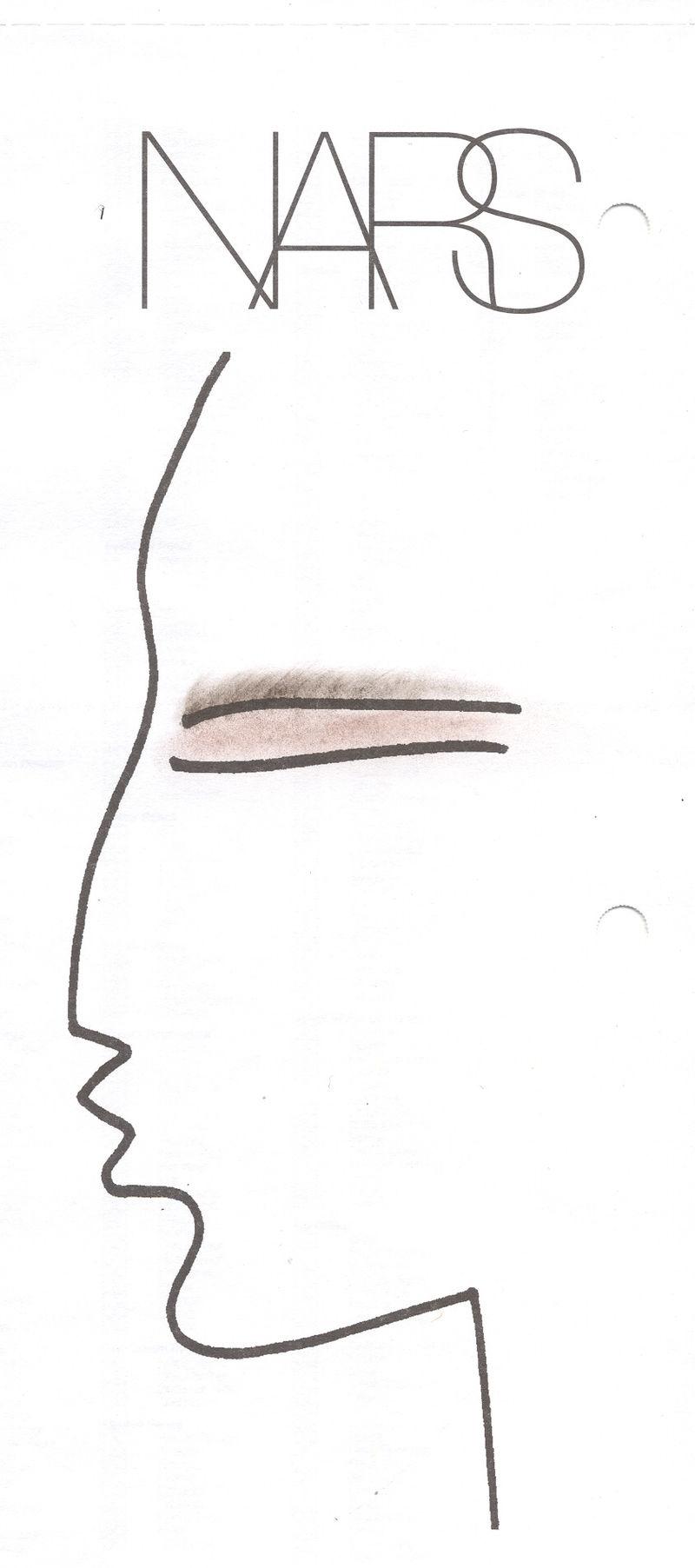 NARS Hervé Léger Face Chart