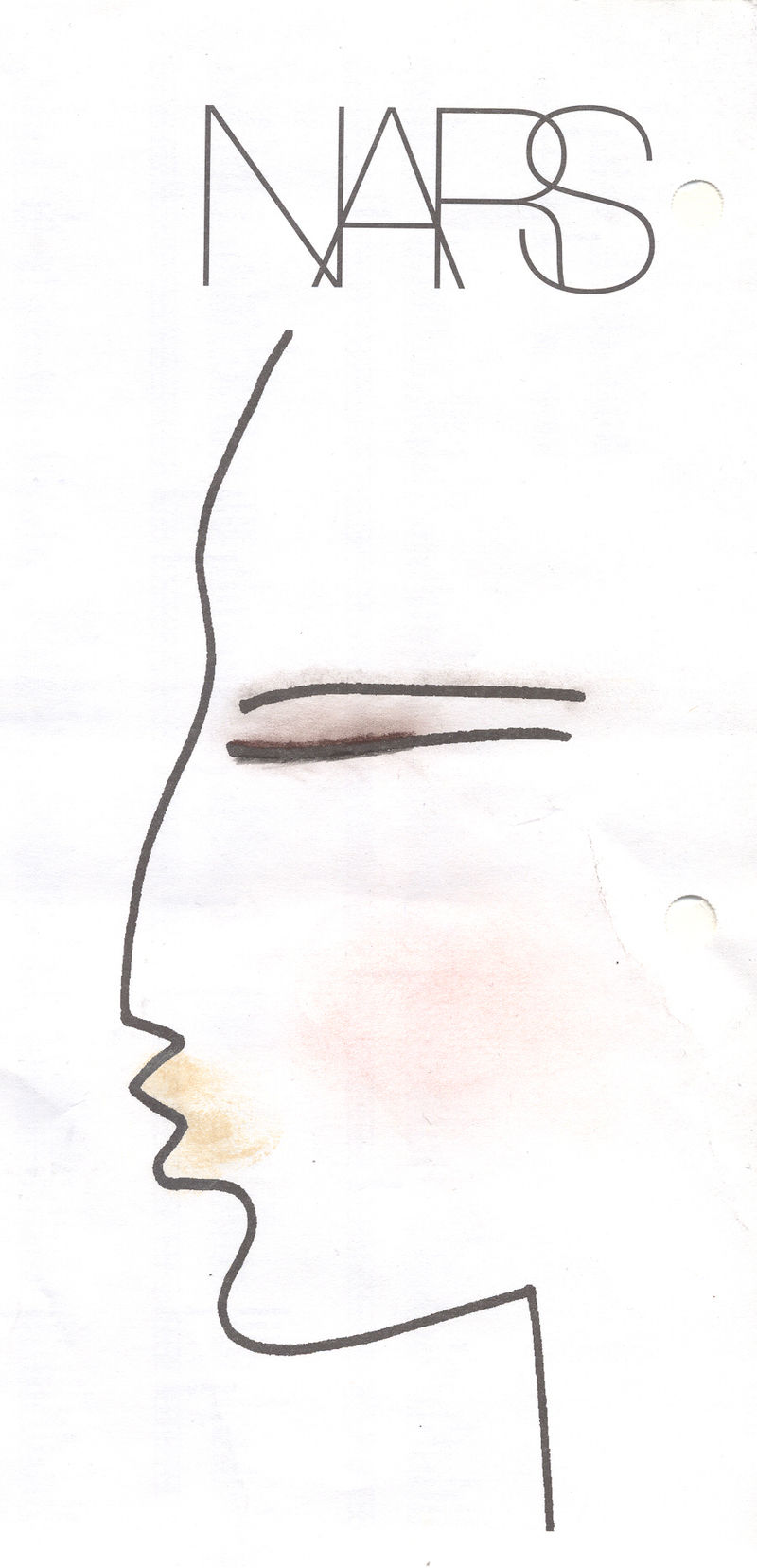 NARS Thakoon Face Chart