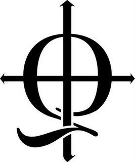 Black illamasqua Q logo