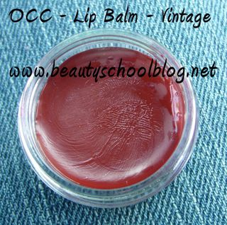 Occ lip balm vintage pot