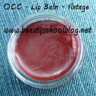 Occ lip balm vintage pot
