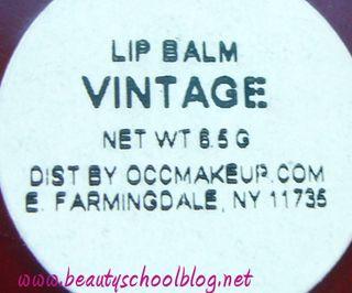 Occ lip balm vintage label copy