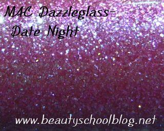 Date night dazzleglass swatch