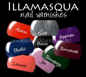 Sephora illamasqua varnish