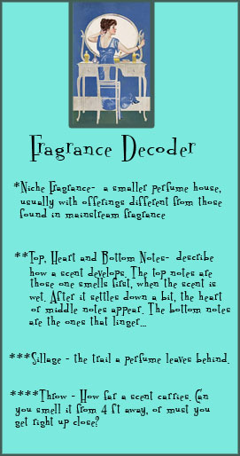 Fragrance decoder copy