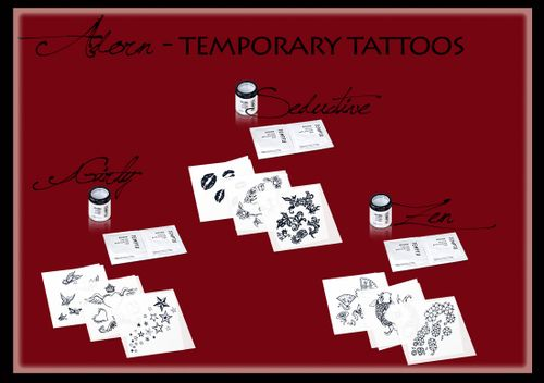 Tattoos copy