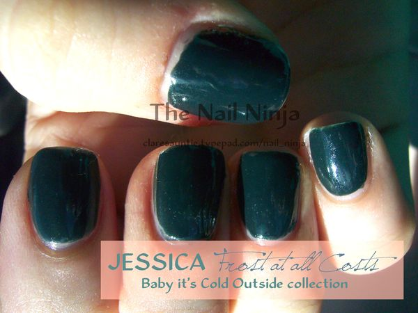 Jessica Cosmetics Frost At All Costs Bsb Beauty News Makeup Swatches And Pictures Nail