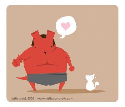 Hellboy-kitty
