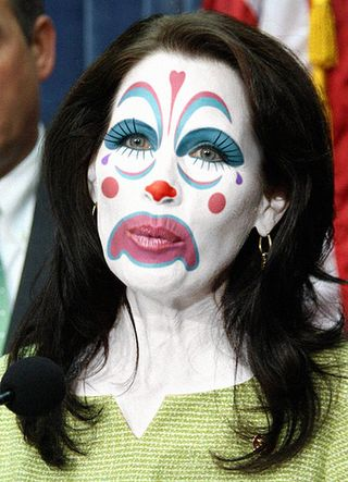 sad clown makeup. Bachmannclownmakeup