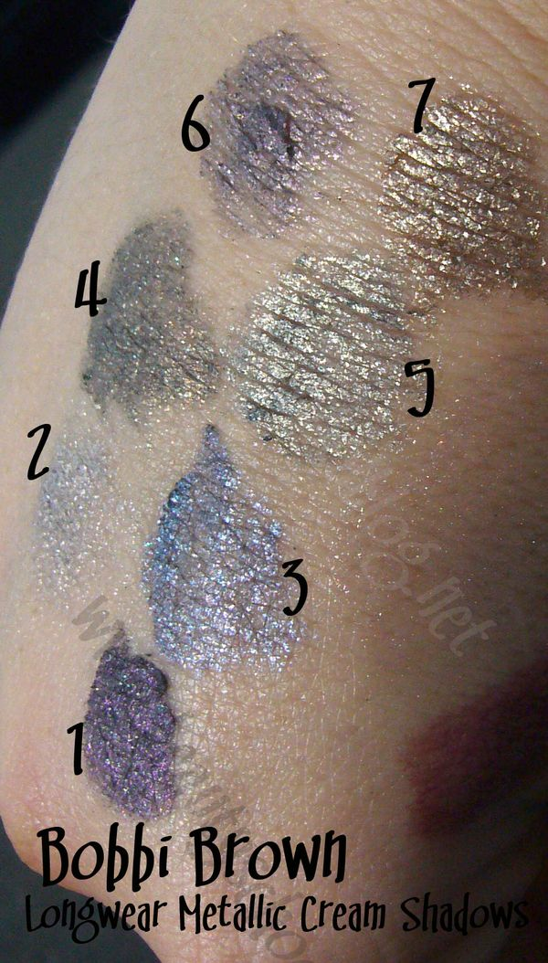 Bobbi Brown Metallic Long Wear Cream Shadow Pictures And Review Pic Heavy Bsb Beauty