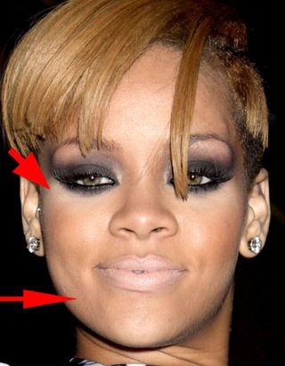 Makeup Foundation on Br Br Br Br Break It Down  Rihanna S Makeup   Bsb  Beauty News  Makeup