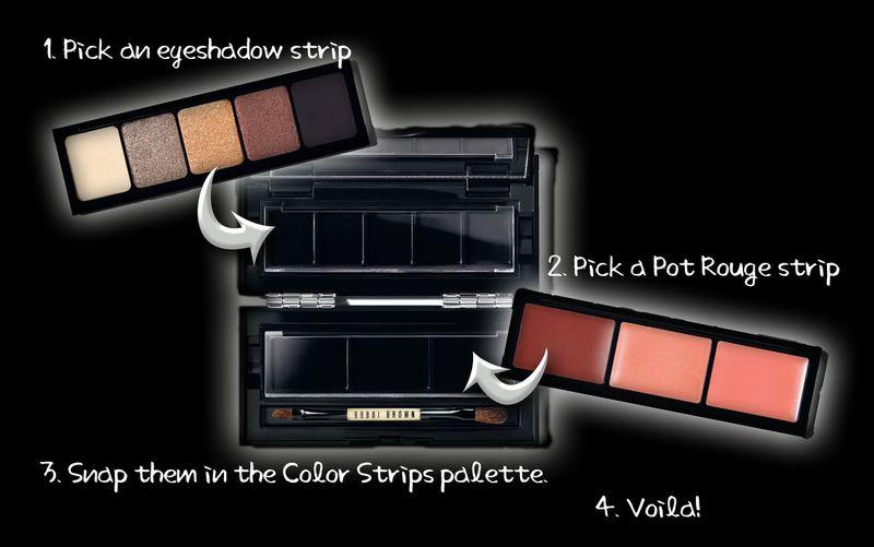 Color strips demo