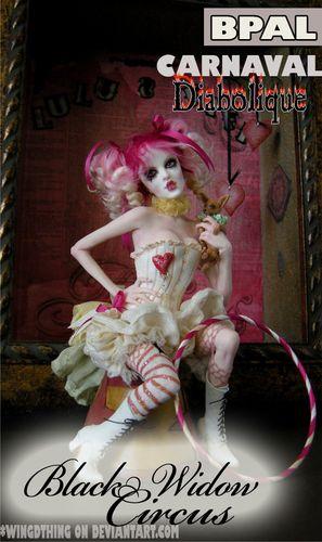 Black widow circus