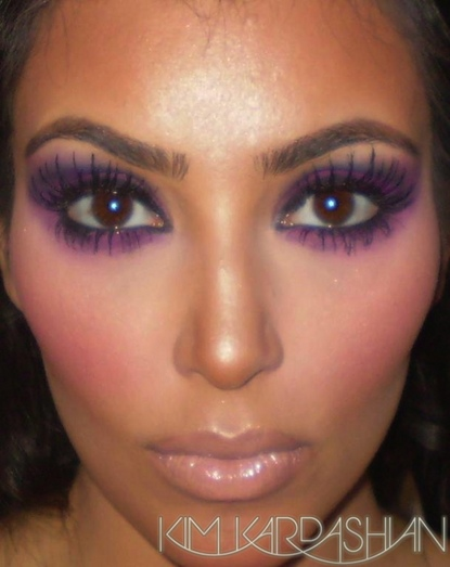 Kim-purple-makeup3