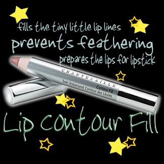 Lip contour fill