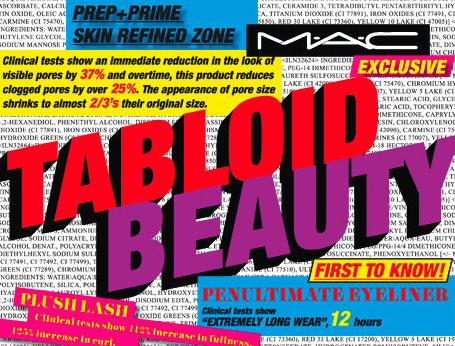 Tabloid beauty