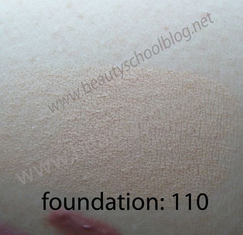 Foundation swatch 2