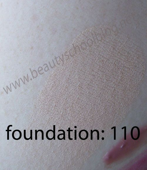 Foundation swatch 110
