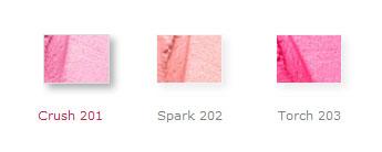 Blush shades