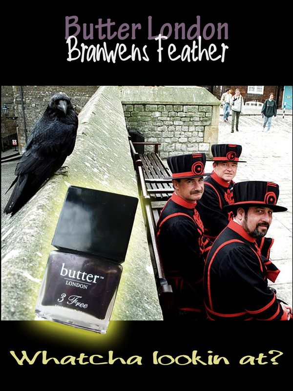 Branwen's Feather from Butter London: the real scoop