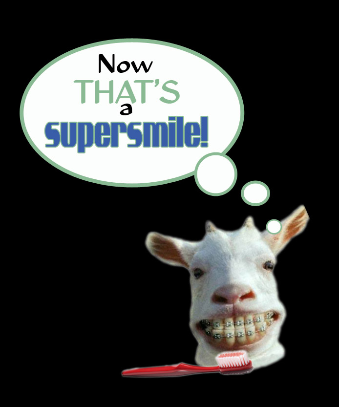 Now thats a supersmile