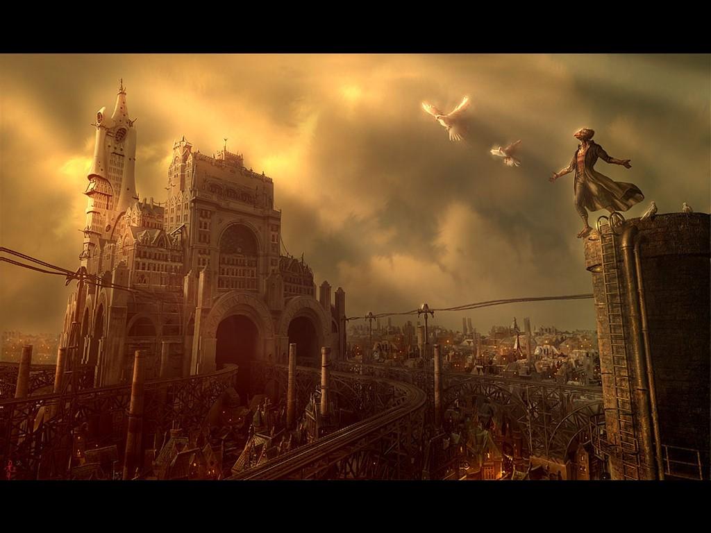 Steampunk-landscape