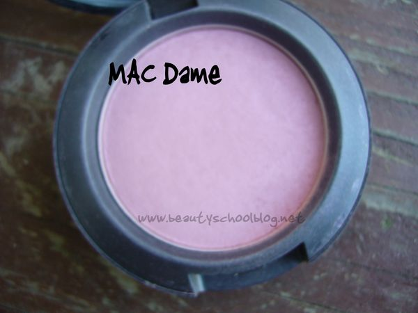 c7ca065b MAC Blush: Dame - BSB: Beauty news, makeup swatches and pictures, nail  polish articles, makeup tutorials, product reviews, and how-to's from a  MAC-trained ...