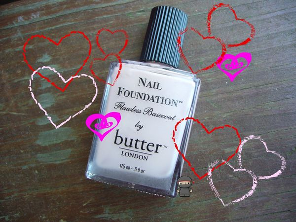 Butter London: Nail Foundation Flawless Basecoat |   Best. Basecoat. Ever.