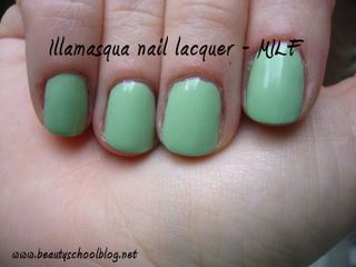 Illamasqua MILF on nails copy