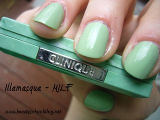 Illamasqua milf clinique green copy