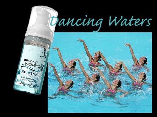 Dancing waters