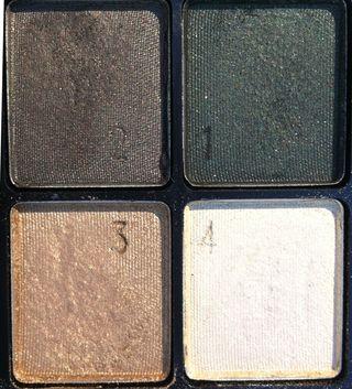 Makeup: L'Oreal eyeshadow palette