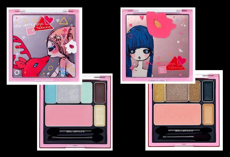 Shu uemura holiday makeup