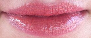 Peach lips makeup tutorial