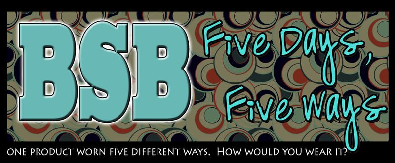 Five days five ways on BSB copy