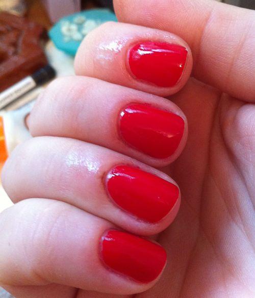 Jessica- scarlet - nail polish - muse - 4