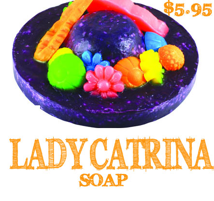 Lady catrina lush soap day of the dead jen meade bsb