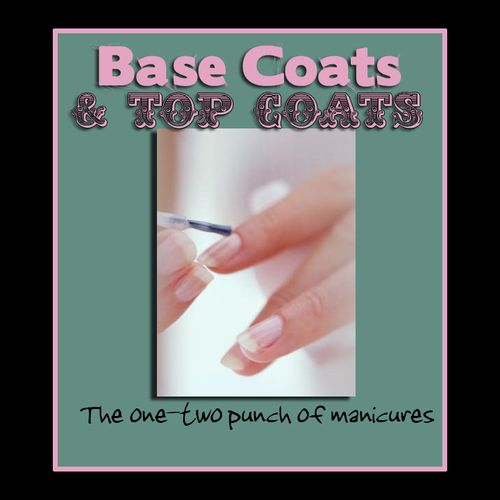 Base and top coats