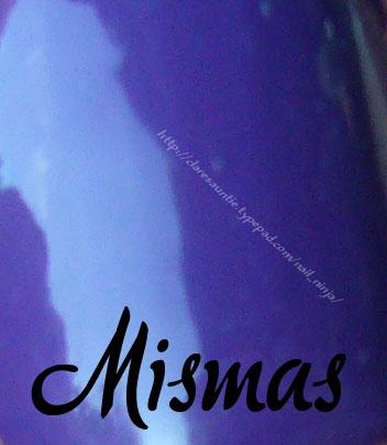 Mismas swatch