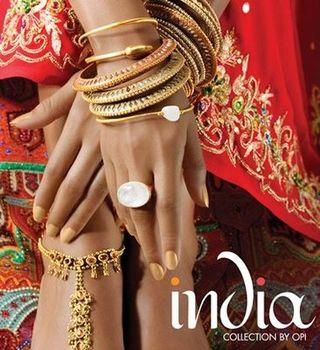 Azura Vandenberg - OPI India Collection Spring Summer 2008 1b
