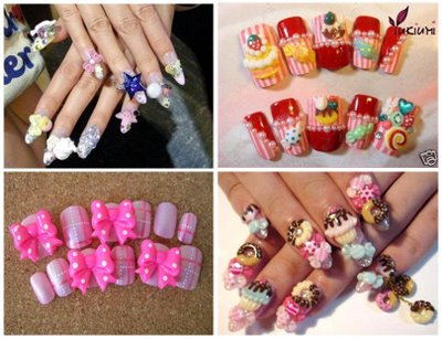 Kawaii-nail-art-4