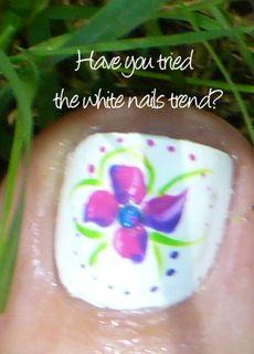 White nails copy