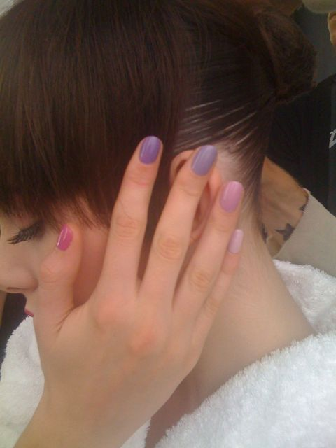 Sophy robson gradient nails