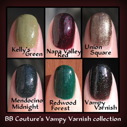 Vampy varnish collection