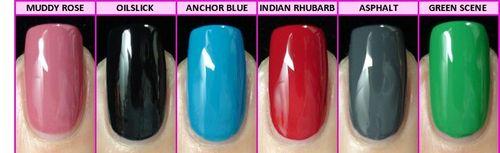 CND EFFECTS original colors