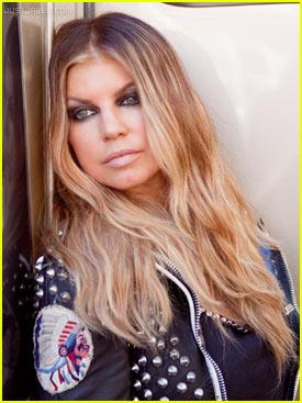 Fergie-blonde