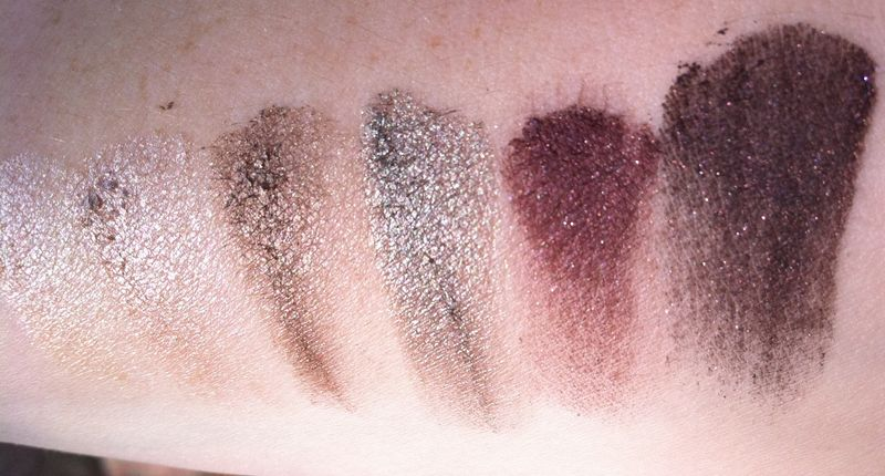 LORAC Private Affair eyeshadow palette swatch